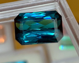 5.95 cts Perfect Lagoon Blue Tourmaline - Glowing - Loupe Clean - $6800 Ret