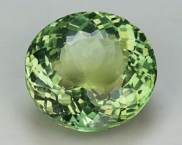 3.37 Cts Green Apatite ~ Awesome Color and Luster ~ Untreated AP23