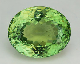 3.70 Cts Green Apatite ~ Awesome Color and Luster ~ Untreated AP25
