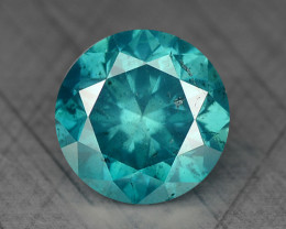 0.36 Ct Blue Diamond Top Class Gemstone DB2