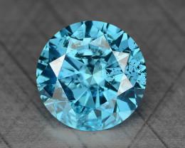0.24 Ct Blue Diamond Top Class Gemstone DB3
