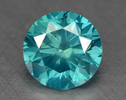 0.33 Ct Blue Diamond Top Class Gemstone DB7