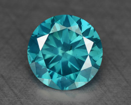 0.30 Ct Blue Diamond Top Class Gemstone DB10