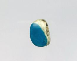 11cts Unique natural blue opal cabochon beads semi-gem (A246)