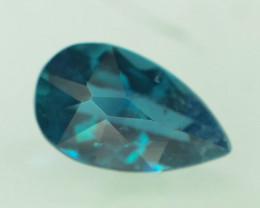 1.45 ct Natural Dark Blue Indicolite Tourmaline