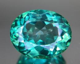 Topaz Bluish Green 12.60CT
