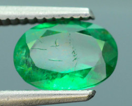 AIG Certified 1.71 ct Zambian Emerald SKU-9