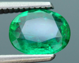AIG Certified 1.62 ct Zambian Emerald SKU-9