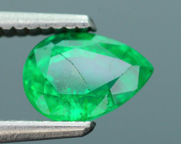 AIG Certified Nice color 1.34 ct Zambian Emerald SKU-9