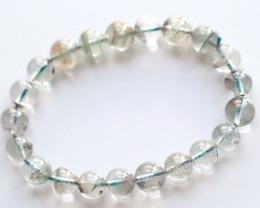 118.0Ct Natural Phantom Quartz Bracelet