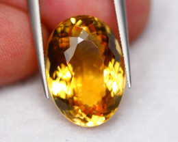 Lot 6 ~ 11.68Ct Natural VS Clarity Golden Yellow Color Citrine