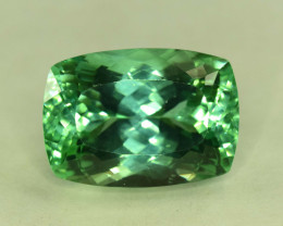 No Reserve 19.50 Carats Lush Green Spodumene from Afghanistan