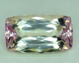 $15 NR Auction - 13.65 Carats Natural Pink Peach Kunzite Gemstone