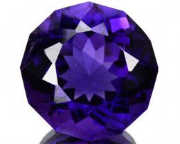 ~SIZZLING~ 3.76 Cts Natural AAA Purple Amethyst Fancy Cut Bolivia