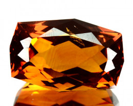 ~JEWELRY GRADE~ 7.29 Cts Natural AAA Golden Orange Citrine Fancy Brazil