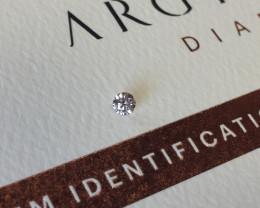 0.09ct 9PR SIAV Certified Argyle Pink Diamond
