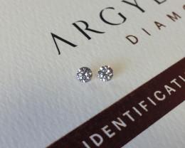 2=0.22ct NCP SIAV Certified Argyle Pink Diamonds