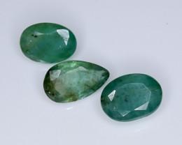 4.80 Crt Emerald Parcels Faceted Gemstone (R52)