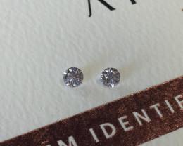 2 = 0.20ct 9PR SIAV Certified Argyle Pink Diamond