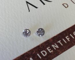 2 = 0.28ct 9PR SIAV Certified Argyle Pink Diamonds