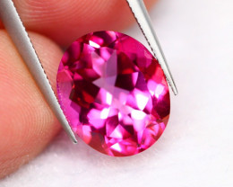 5.71Ct Natural VS Brazilian Pink Topaz Ex-Luster A28/11