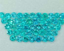33.29 Cts Fabulous Attractive Paraiba Color Apatite Parcel