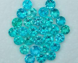 26.62 Cts Wonderful Attractive Paraiba Color Apatite Parcel