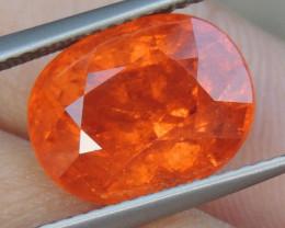 "7.68cts Glowing ""Fanta""  Spessartite,  Wow Stone"