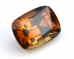 12.65 Carat Zircon -- Fantastic Certified Honey Zircon