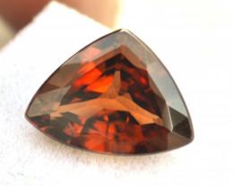 9.38 Carat Zircon -- Great Fancy Trillion Cut Stone