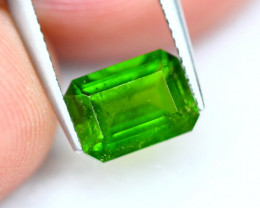 1.13Ct Natural Russian Vivid Green Chrome Diopside ~ B29/12