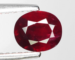 0.90 CT RED RUBY BEST COLOR GEMSTONE RB4