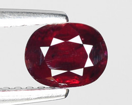 0.70 CT RED RUBY BEST COLOR GEMSTONE RB13