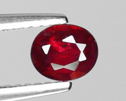 0.57 CT RED RUBY BEST COLOR GEMSTONE RB18