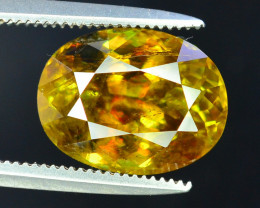 4.90 Carats AAA Color Full Fire Natural Sphene Loose Gemstone