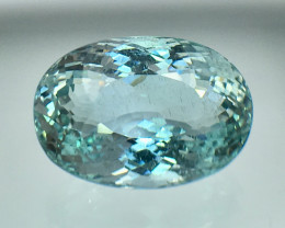 9.70 Cts Aquamarine Awesome Color and Luster ~ Skardu AN2
