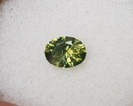 2.09ct Green Zircon - Master cut!