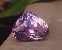 7.25 Ct Natural Pink Heart Shape Kunzite Gemstone