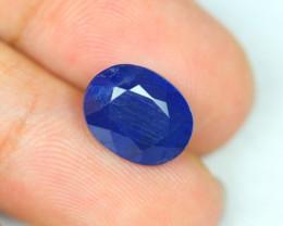 7.50Ct Blue Sapphire Oval Cut Lot B115