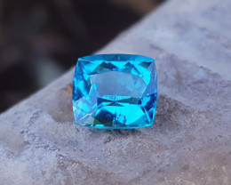 1.40  Ct Natural Blue Ring Size Transparent Tourmaline Gem