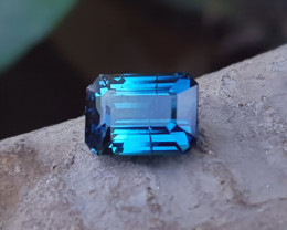 1.50  Ct Natural Blue Superb Color Transparent Tourmaline Gemstone