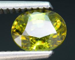 AAA Clarity 1.66 ct Demantoid Garnet Mozambique SKU.5
