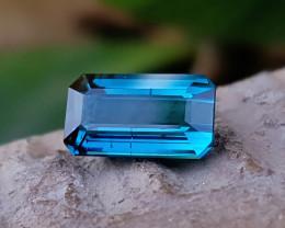 1.50 Ct Natural Blueish Transparent Tourmaline Gemstone