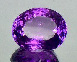 6.82 Crt Natural Amethyst Beautifulest Faceted Gemstone.( AG 79)