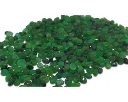 30 Stones - 4.8 ct Emerald 4x3mm Oval - $1 No Reserve Auction