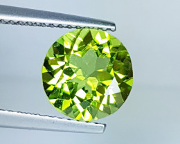 """2.97 ct """"IGI Certified """" AAA Top Quality Round Cut Natural Perido"""
