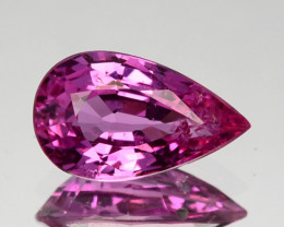 0.93 Cts Natural Sapphire Sweet Pink Pear Cut Sri Lanka