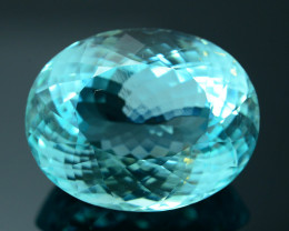 GRS Certified 51.47 ct  Paraiba Tourmaline