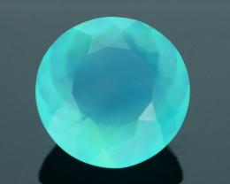 Peruvian Blue Opal 4.11 ct Untreated/Unheated SKU.5