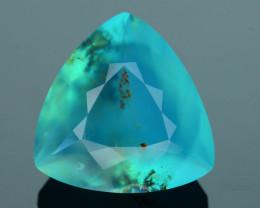 Peruvian Blue Opal 12.94 ct Untreated/Unheated SKU.5